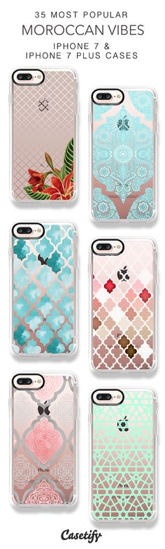 35 Most Popular Moroccan Vibes iPhone 7 Cases and iPhone 7 Plus Cases. More Pattern iPhone case here > https://www.casetify.com/collections/top_100_designs#/?vc=9FI8SBfh4u