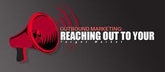But how do we clearly define who our target market is? And how do we reach out to them? Time for a effective outbound marketing campaign to do its thing. Email Marketing Design, Direct Marketing, Inbound Marketing, Sales And Marketing, Business Marketing, Business Management, Lead Generation, Corporate Events, Target