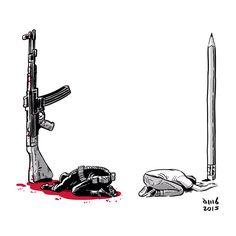 David M. Buisán  #JeSuisCharlie #CharlieHebdo