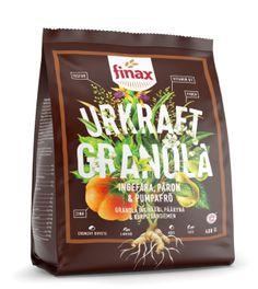 Ingefära, päron och pumpafrö - Finax Urkraft granola