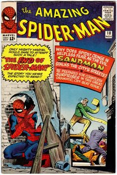 Amazing Spider-Man # 18 , November 1964 , Marvel Comics Vol 1 1963 tumblr_nj1rmeZuRV1rn55nzo1_540.jpg (540×808)