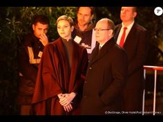 Princess Charlene and Prince Albert of Monaco attended  Ceremony Of The ...