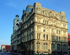 Mitchell Building + Chamber of Commerce - Second Empire architecture - Wikipedia, the free encyclopedia Second Empire, Victorian Architecture, Chamber Of Commerce, Empire Style, Milwaukee, Custom Homes, Wisconsin, Multi Story Building, Louvre