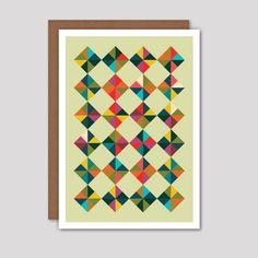 Dicky Bow - #Diamonds #Greeting #Card