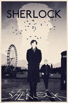 Sherlock London Poster | UK Store | Oneposter.com