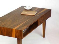 Coffee table  Walnut mid century modern