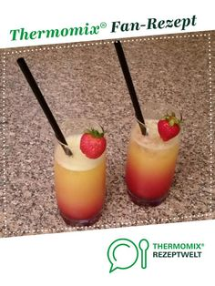 Touch Down / Cocktail - Thermomix - Cocktail Recipes Summer Cocktails, Cocktail Drinks, Cocktail Recipes, Cocktail Movie, Cocktail Sauce, Cocktail Attire, Cocktail Shaker, Prosecco Drinks, Alcholic Drinks