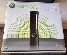 MICROSOFT XBOX 360 ELITE 120GB + 9 GAMES FORZA,HALO,TEKKEN, NEED for SPEED ETC.. #Microsoft