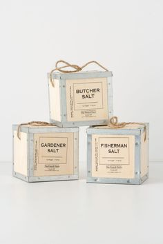 Unique Packaging Design, The French Farm Salt #packaging #design (http://www.pinterest.com/aldenchong/)