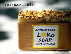 Loko Immortelle - Prirodni Sapun / Natural soap - 3,5$| OMNIS ART - handmade