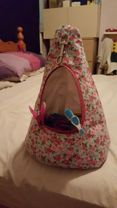 Swedish style peg bag