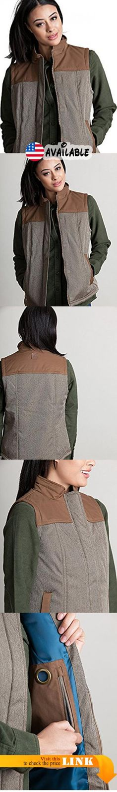 B077BPB2WW : Overland Sheepskin Co Albion Herringbone Insulated Vest. Our insulated outdoor vest serves as your outer layer or an insulating layer beneath a coat. Lightweight with a buoyant feel the herringbone is designed to keep you warm dry and good looking. The poly fabric is trimmed with contrast waterproof fabric at the collar and yoke and pocket trim. Zip front wind guard placket has hidden magnet closures. Polyester lining. Shell: 100% Polyester (water resistant).