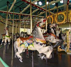 carousel ponies | Cafesjians Carousel - Como Park by TBoard, via Flickr | Painted Ponies