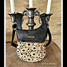 Séverine Greene sur Instagram: Un élégant petit sac de ville pour ma Mère ! Modèle Be de @patrons_sacotin , qui grâce au superbe liège de @tyltissus1 , est un sac chic…
