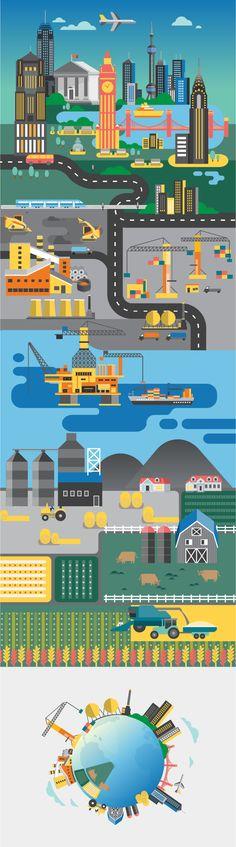 HSBC ad - Jing Zhang illustration