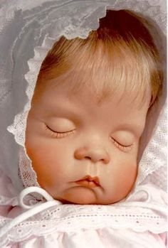 "SUGAR BRITCHES - Handcrafted Realistic Porcelain Collectable Baby Doll "" Gift from Hubby""!!!"