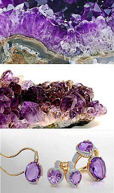 Камень аметист: свойства, история, добыча, разновидности и применение