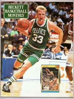 Larry Bird (Beckett Basketball Monthly)