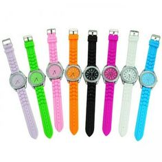 Casual Silicone Wristwatch