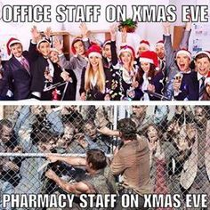 pharmacy on Christmas eve and new year's eve!!