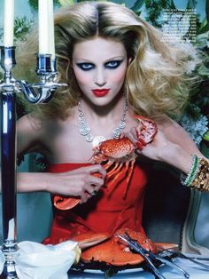"Miles Aldridge ""The Pure Wonder"" Vogue Italia"