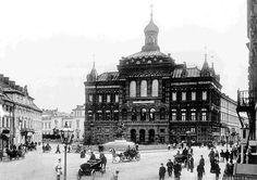 Pałac Staszica przerobiony na cerkiew