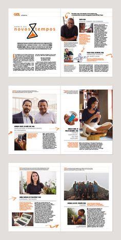 Publieditorial do projeto GOL Novos Tempos para revista Transformadores (Trip)