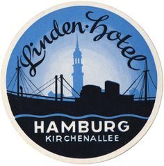 #LuggageLabel Linden Hotel, Hamburg, Kirchenallee, #Germany