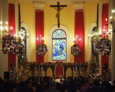 Traditional Puerto Rican Christmas decoration | Catedral De San Juan Puerto Rico