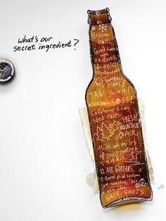 Cerveja - Ingredientes secretos <3 Hapiness