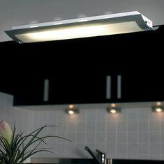 Endon Lighting 2 Light Flush Ceiling Light
