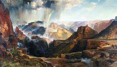 The Chasm of the Colorado - Thomas Moran