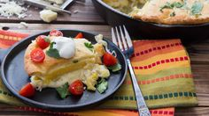 Layer creamy chicken, polenta and crescents for cheesy skillet dinner ...