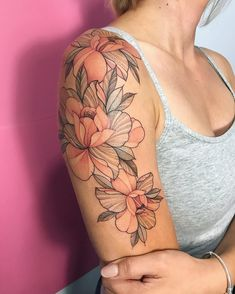 200 Pictures of Female Arm Tattoos for Inspiration - Photos and Tattoos - Flower Tattoo Designs - PARIS Im planning to take only two appointments! of September! For book -