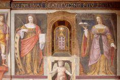 File:Saints Catherine and Agatha - San Maurizio - Milan 2014.jpg