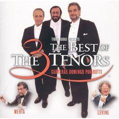 The Three Tenors - The Best of the 3 Tenors (Live) by James Levine, José Carreras, Luciano Pavarotti, Plácido Domingo & Zubin Mehta West Side Story, Tornados, Zubin Mehta, Opera Arias, Pont Paris, Placido Domingo, Levine, Guy, You'll Never Walk Alone