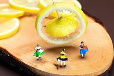 Rotating Dancers And Lemon Gyroscope Food Physics, by Paul Ge