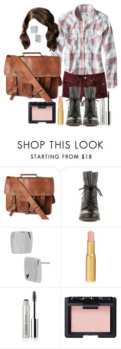 """Malia Tate 5x02 """"Parasomnia"""" Outfit by lili-c on Polyvore featuring Steve Madden, Robert Lee Morris, Clinique, NARS Cosmetics and Too Faced Cosmetics"""