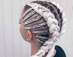 Teen Hairstyles, Weave Hairstyles, Pretty Hairstyles, Volleyball Hairstyles, Viking Hair, Braids With Extensions, Baby Girl Hair, Festival Hair, Aesthetic Hair
