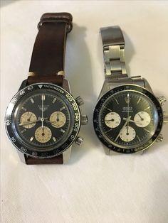 Heuer 2446c Rolex 6263