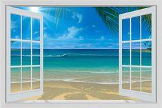 Sun Shine Through The Window Mural - David Miller| Murals Your Way