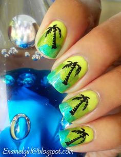 Nail art: Summer nail art designs