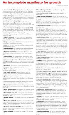 Bruce Mau Manifesto