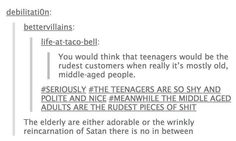 I worked retail as a teen. This is sadly true.