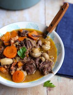 Beef cheeks with Cognac and mustard Beef Cheeks, Roasted Butternut Squash, French Kitchen, Pot Roast, Dinner Recipes, Food Porn, Food And Drink, Nutrition, Healthy Recipes