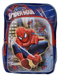 Marvel Comics Ultimate Spider-Man Boy/'s Carry-On Insulated Lunch-Bag NWT