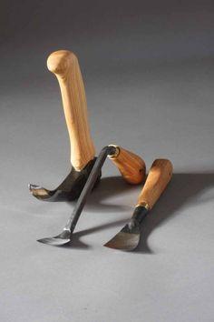 Hans Karlsson bowl carving set - Robin Wood