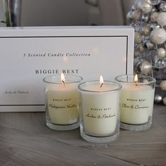 Biggie Best 3 Scented Candle Collection