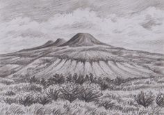 Photo by Jana Haasova Watercolor Landscape, Tapestry, Paintings, Statue, Mountains, Drawings, Volcanoes, Plants, Travel