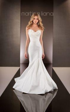 582 Mermaid Wedding Dress by Martina Liana